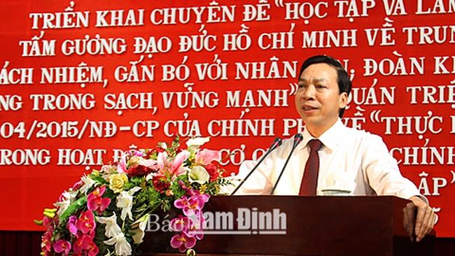 Ông Trần Văn Trung được bầu làm Chủ tịch HĐND tỉnh Nam Định