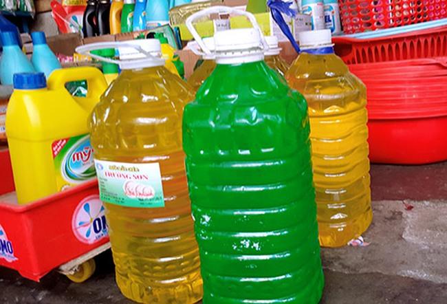 Đồng Nai: Tràn lan nước rửa bát giá rẻ, không rõ nguồn gốc