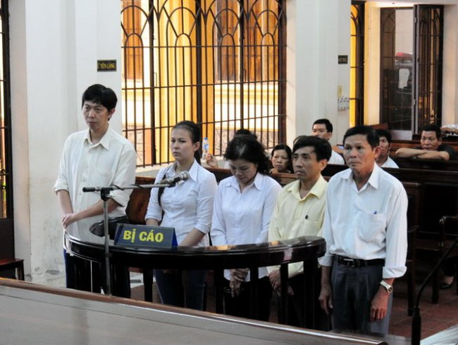 5 cán bộ lãnh án vụ rút ruột hơn 4,3 tỉ đồng BHXH