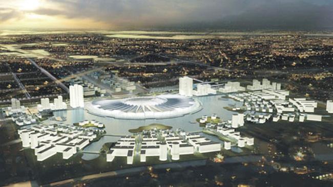 Dự án Trung tâm Hội chợ triển lãm quốc gia –quốc tế đặt tại Đông Anh
