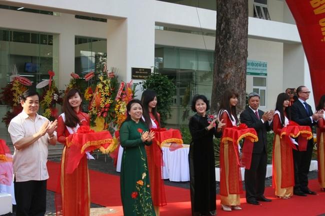 Khánh thành Trung tâm Ung bướu Bệnh viện Chợ Rẫy