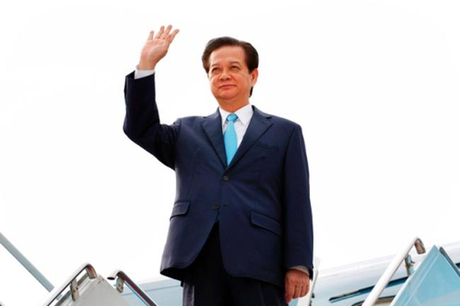 Thủ tướng lên đường dự ký FTA Việt Nam-Liên minh Kinh tế Á-Âu