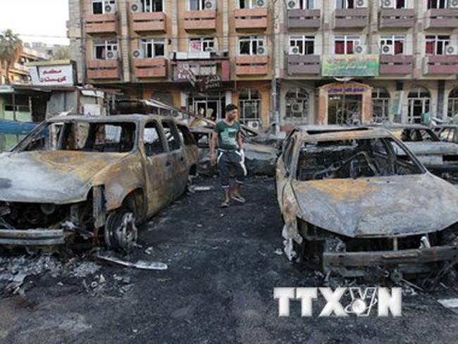 Iraq: Đánh bom kép tại thủ đô Baghdad làm 85 người thương vong