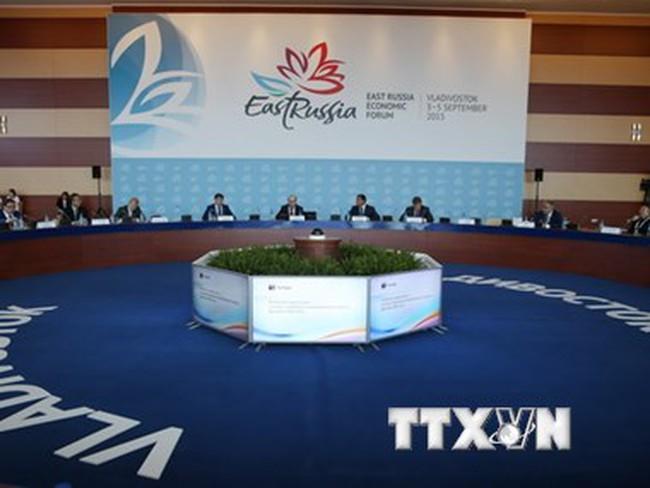 Việt Nam tham dự Diễn đàn Kinh tế phương Đông lần thứ nhất