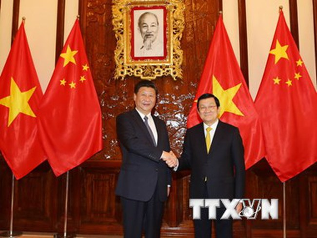 Toàn văn bản Tuyên bố chung Việt Nam-Trung Quốc