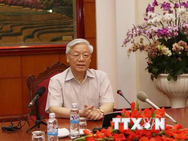 Tổng Bí thư Nguyễn Phú Trọng lên đường thăm chính thức Nhật Bản