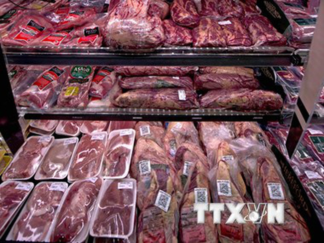 Thiếu nguồn cung, Indonesia nhập 50.000 tấn thịt bò Australia