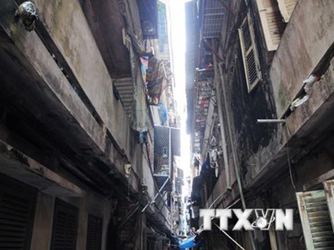 Gian nan cải tạo chung cư cũ, bảo tồn nhà cổ ở TP Hồ Chí Minh