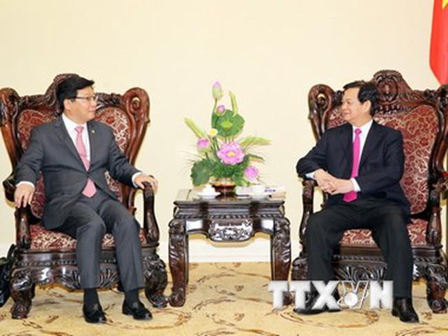 Thủ tướng đề nghị Hàn Quốc sớm phê chuẩn Hiệp định FTA