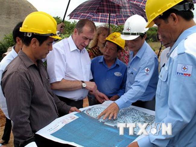 Việt-Nga thúc đẩy hợp tác phát triển cơ sở hạ tầng điện hạt nhân