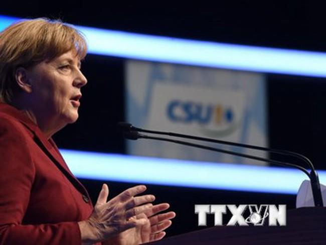 Thủ tướng Đức Merkel đang mất dần sự ủng hộ của cử tri