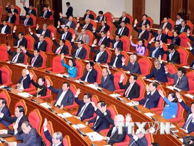 Bộ Chính trị trình kết quả giới thiệu nhân sự Ban Chấp hành khóa XII
