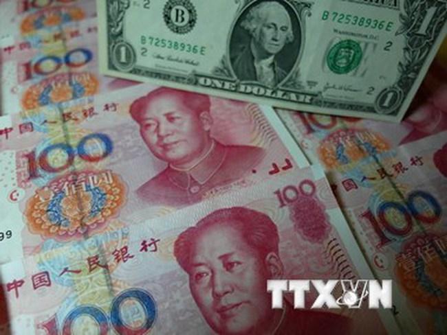 Nhật Bản lo ngại về việc Trung Quốc phá giá đồng nhân dân tệ