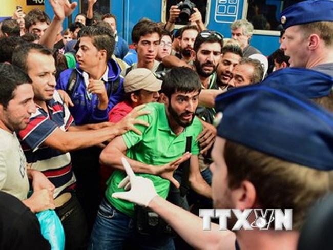 EU công bố kế hoạch táo bạo đối phó khủng hoảng nhập cư