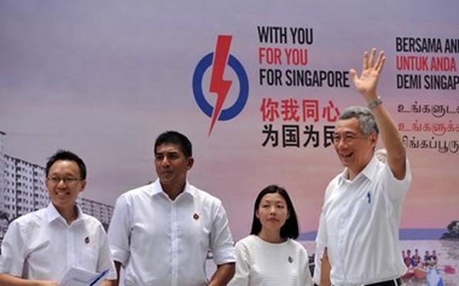 Singapore chi hơn 5 triệu USD cho tổng tuyển cử 2015