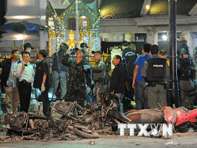 Campuchia siết an ninh sau vụ nổ bom kinh hoàng ở Thái Lan