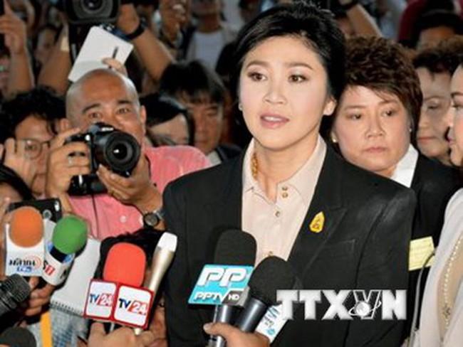 Thái Lan: Bà Yingluck trình diện trước Tòa do vụ kiện trợ giá gạo