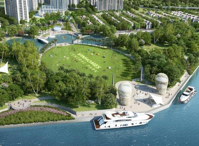 Vingroup đầu tư 500 tỷ xây dựng công viên ven sông lớn nhất TP.HCM