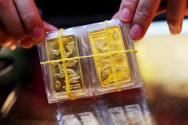 Giá vàng giảm xuống dưới 33,3 triệu đồng/lượng