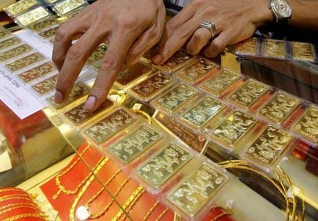 Tăng 120 nghìn đồng, giá vàng lên sát 35,4 triệu đồng/lượng