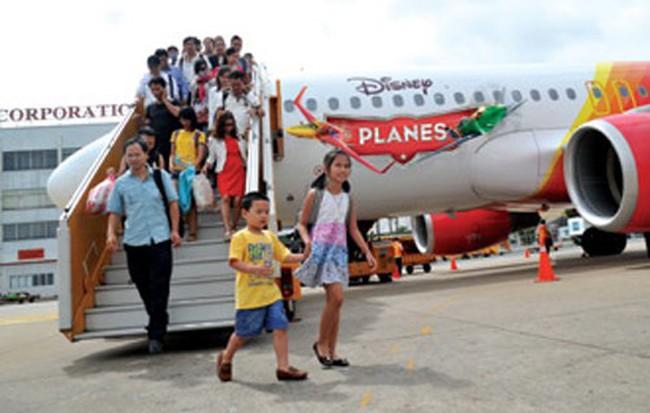 Vietjet tăng tần suất bay tới Đài Bắc