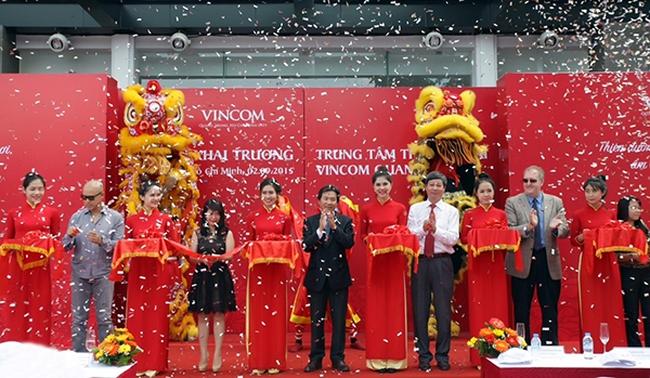 Vingroup mở trung tâm thương mại Vincom thứ 3 tại TPHCM