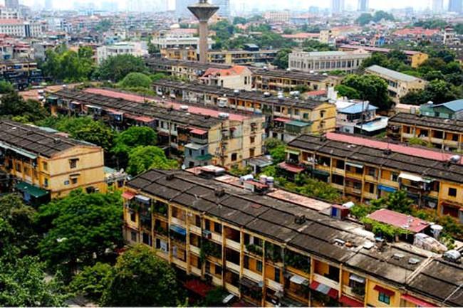"""Cải tạo chung cư: Không thể """"thả lỏng"""" việc nâng tầng"""