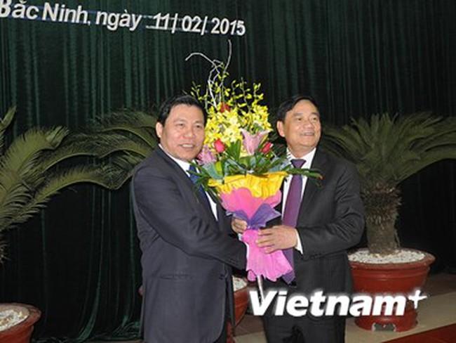 Ông Nguyễn Nhân Chiến giữ chức Bí thư Tỉnh ủy Bắc Ninh