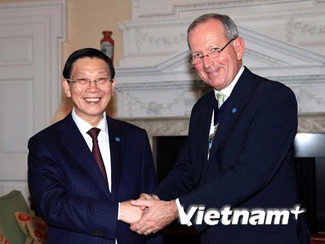 London giúp Hà Nội trong quy hoạch, xây dựng trung tâm tài chính