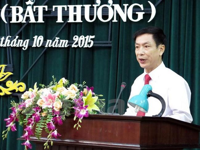 Ông Phạm Đình Nghị được bầu làm Chủ tịch UBND tỉnh Nam Định