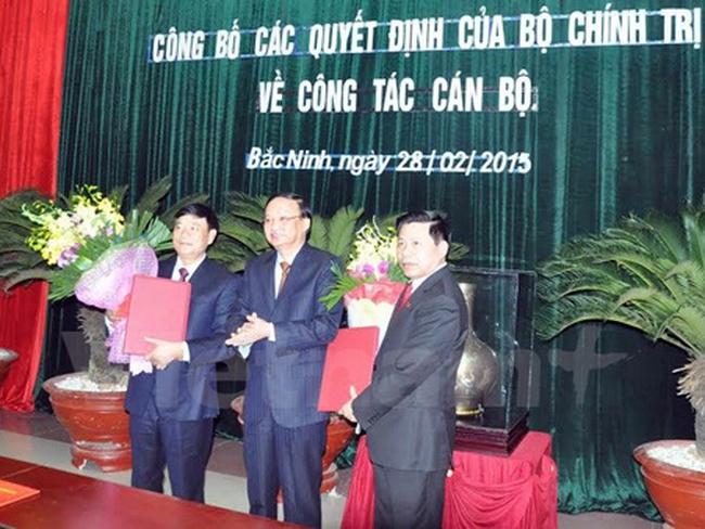 Điều động nhân sự Ban Tổ chức Trung ương và Tỉnh ủy Bắc Ninh