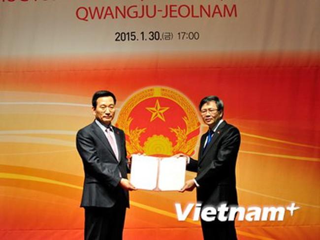 Bổ nhiệm Tổng lãnh sự danh dự Việt Nam tại GwangjuChonnam