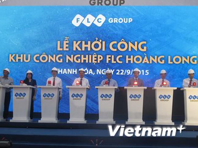 Xây Khu công nghiệp FLC Hoàng Long vốn đầu tư hơn 2.300 tỷ đồng
