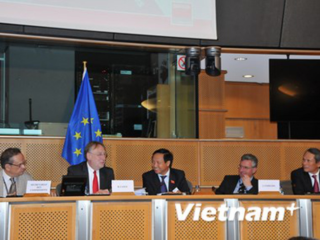 Quốc hội Việt Nam thảo luận về FTA với Nghị viện châu Âu