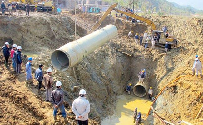 Hà Nội xin cơ chế đặc thù làm đường ống nước sông Đà