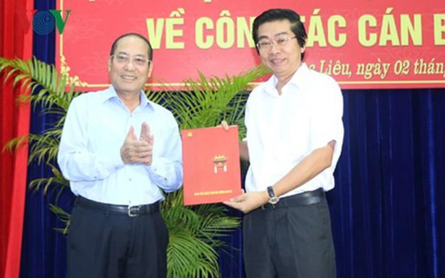 Nhân sự mới Ban Nội chính TW, Tỉnh ủy Bạc Liêu