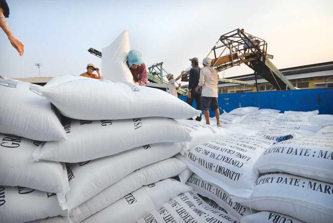 Đã xuất khẩu hơn 5 triệu tấn gạo