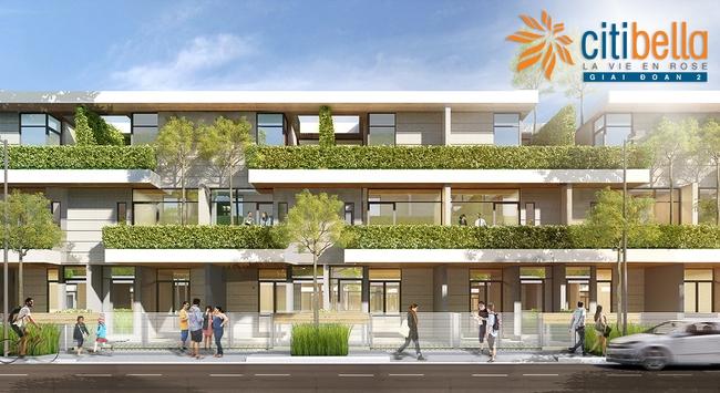 Nhà phố tầm trung Citibella 2 chính thức ra mắt thị trường vào tháng 1/2016