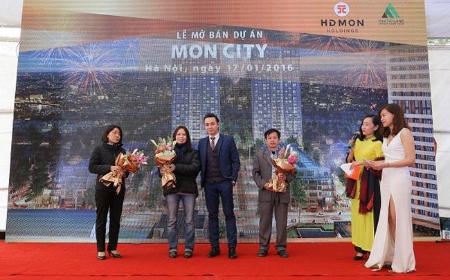 Hàng trăm khách hàng tham dự và giao dịch tại lễ mở bán Mon City