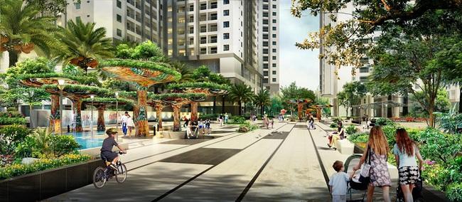 Chính thức cất nóc khu Ruby, dự án Goldmark City