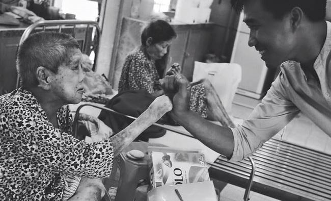 MLAND Vietnam quan tâm chăm sóc tết cho bệnh nhân nghèo