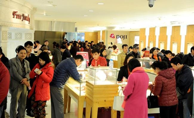 Tập đoàn DOJI bán ra 100.000 sản phẩm trong dịp Thần Tài