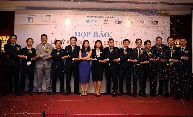 Phú Thuận Sơn ký kết hợp tác phân phối dự án Xi Grand Court