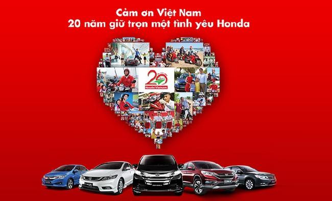 Honda Ô tô Việt Nam tri ân khách hàng nhân 10 năm thành lập