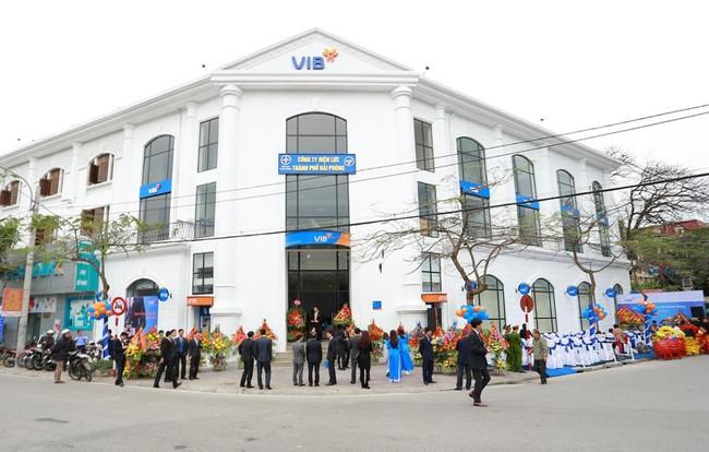 VIB Hải Phòng khai trương trụ sở mới tại đường Trần Hưng Đạo