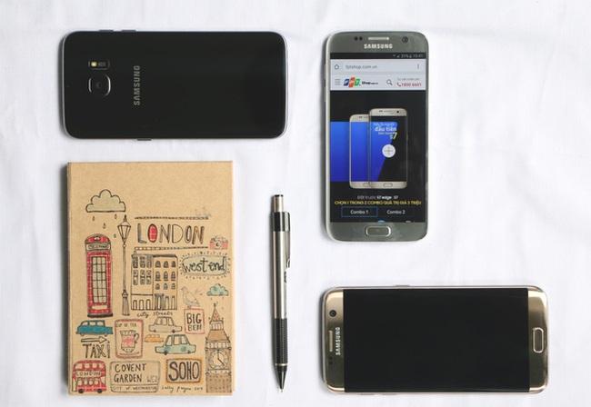 """Mỹ Nhân Ngư xuống nước """"bóc tem"""" Galaxy S7 tại FPT Shop"""