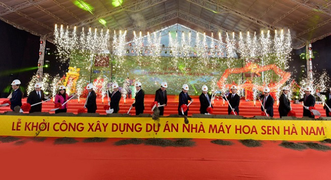 Tập đoàn Hoa Sen chính thức chinh phục thị trường miền Bắc