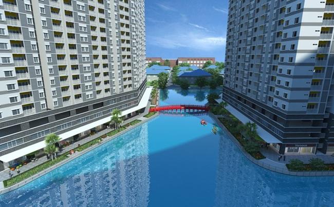 Mua nhà, đón thủy lộc từ hồ Thiên Nga 7.500 m2
