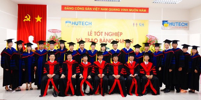 HUTECH tuyển sinh trình độ Thạc sỹ đợt 1 năm 2016