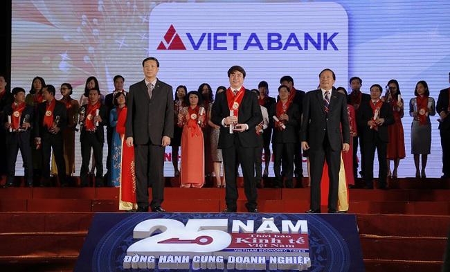 Lần thứ 10 Vietabank nhận giải thương hiệu mạnh Việt Nam